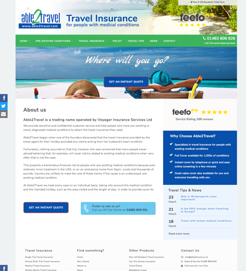 Able2Travel Insurance
